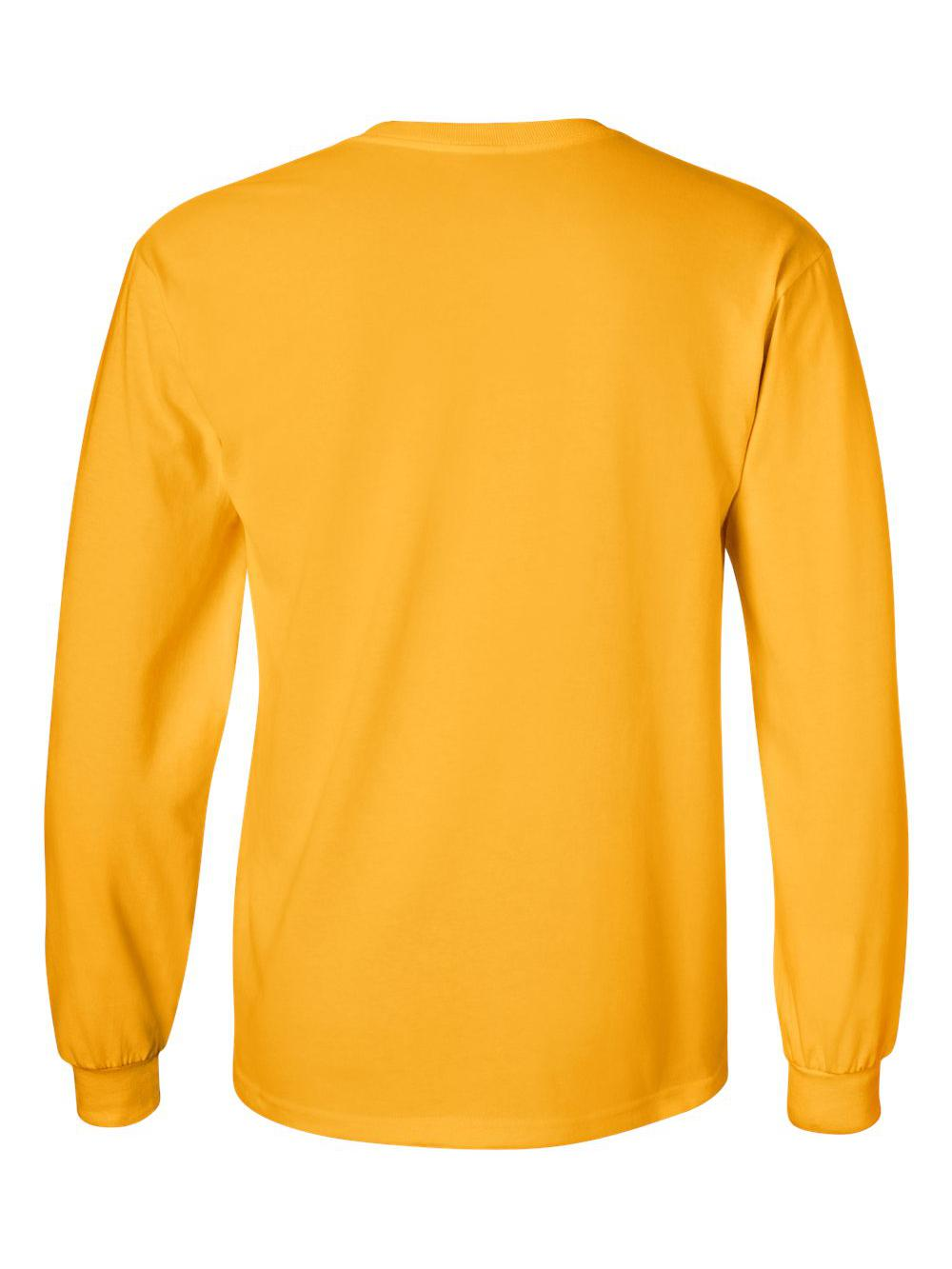 Gildan-Ultra-Cotton-Long-Sleeve-T-Shirt-2400 thumbnail 28