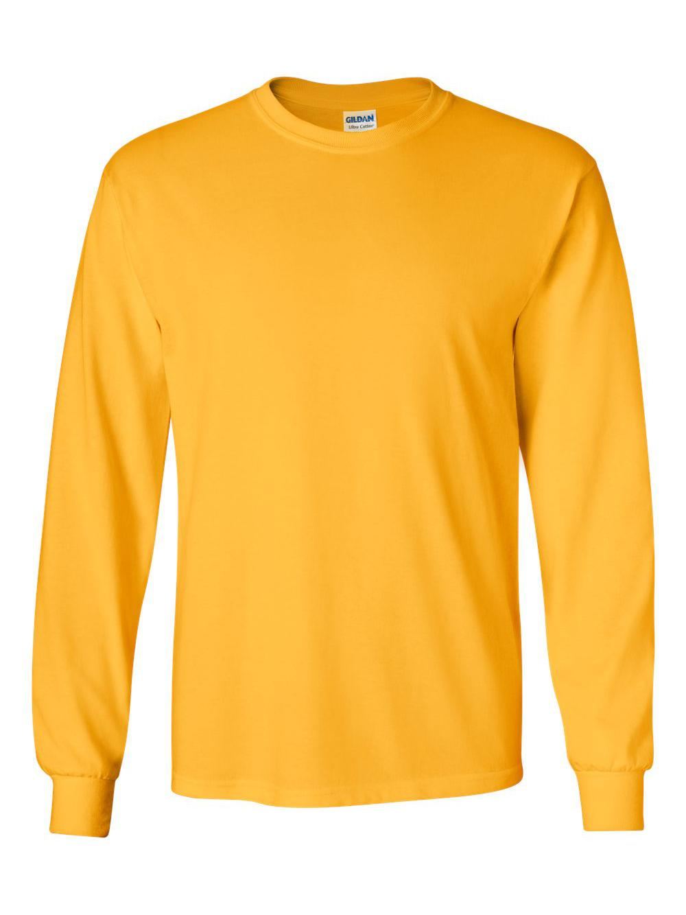Gildan-Ultra-Cotton-Long-Sleeve-T-Shirt-2400 thumbnail 27