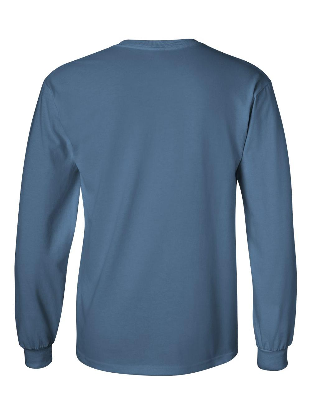Gildan-Ultra-Cotton-Long-Sleeve-T-Shirt-2400 thumbnail 31