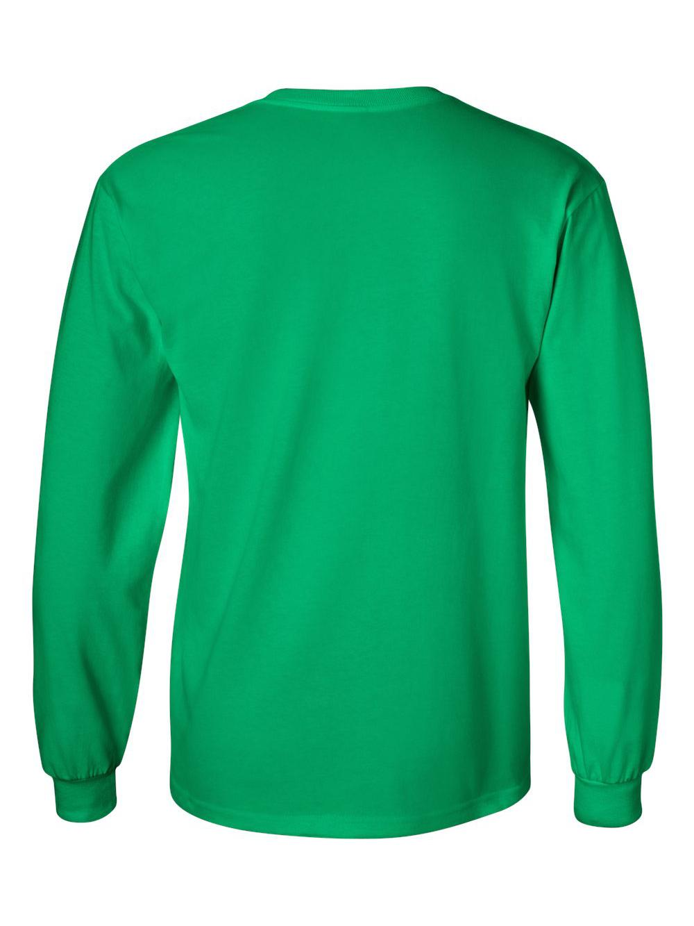 Gildan-Ultra-Cotton-Long-Sleeve-T-Shirt-2400 thumbnail 34
