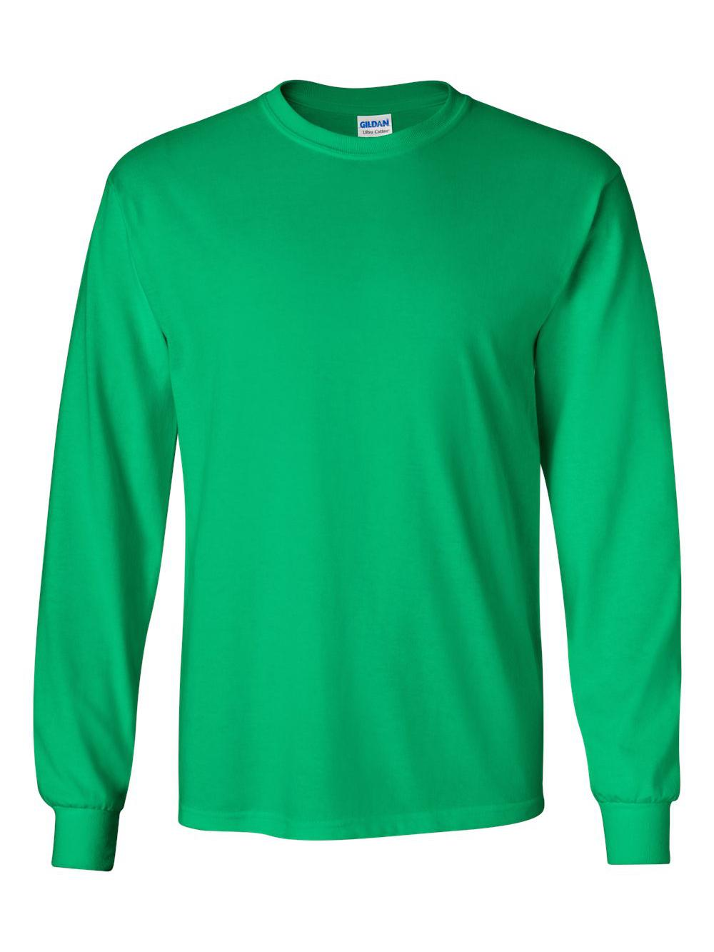 Gildan-Ultra-Cotton-Long-Sleeve-T-Shirt-2400 thumbnail 33