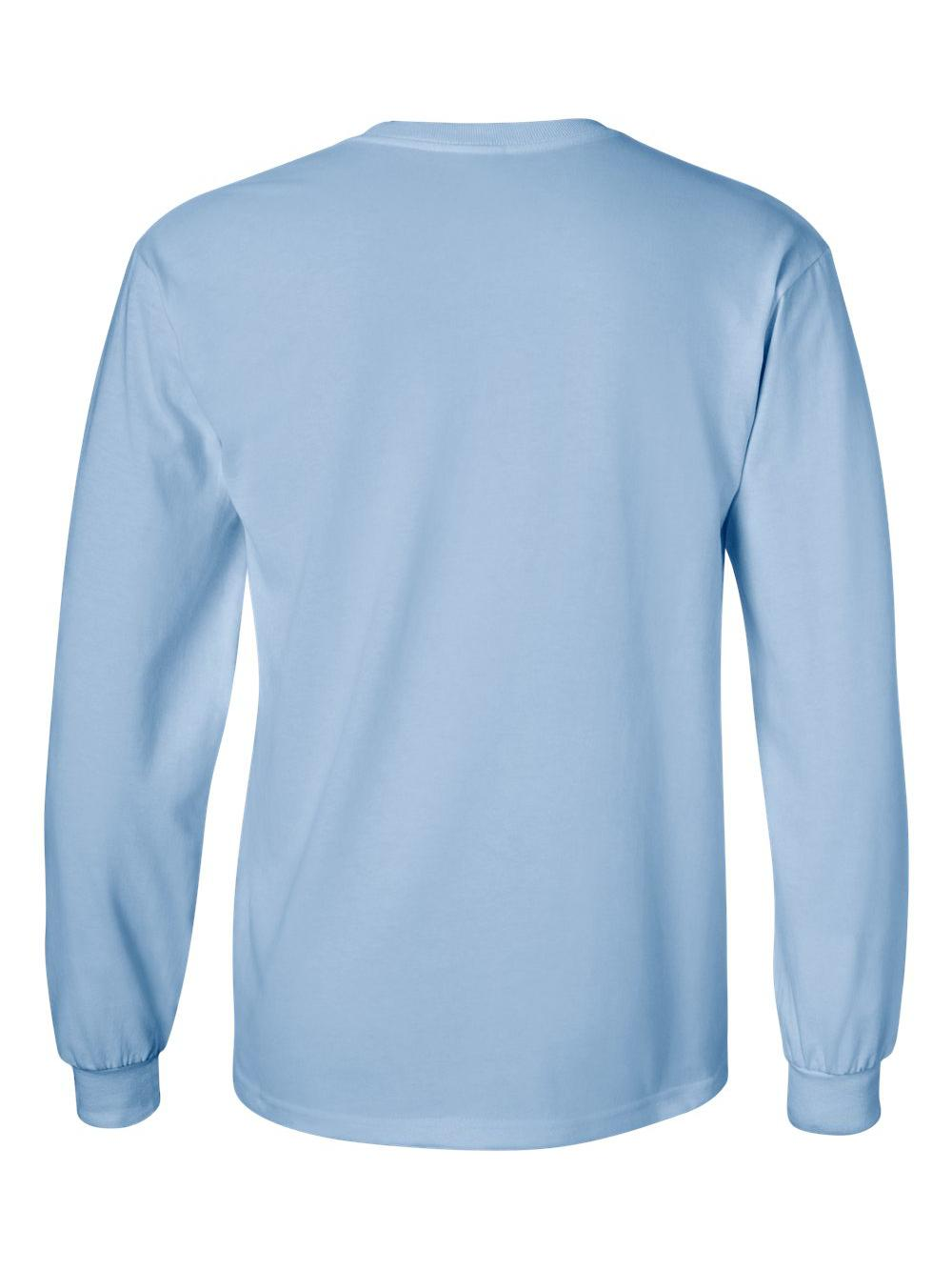 Gildan-Ultra-Cotton-Long-Sleeve-T-Shirt-2400 thumbnail 37