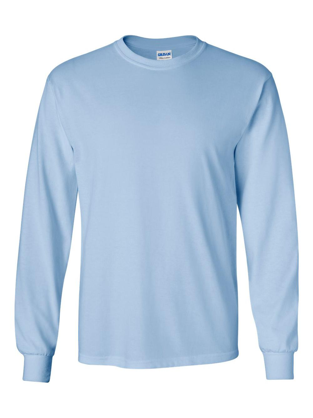 Gildan-Ultra-Cotton-Long-Sleeve-T-Shirt-2400 thumbnail 36