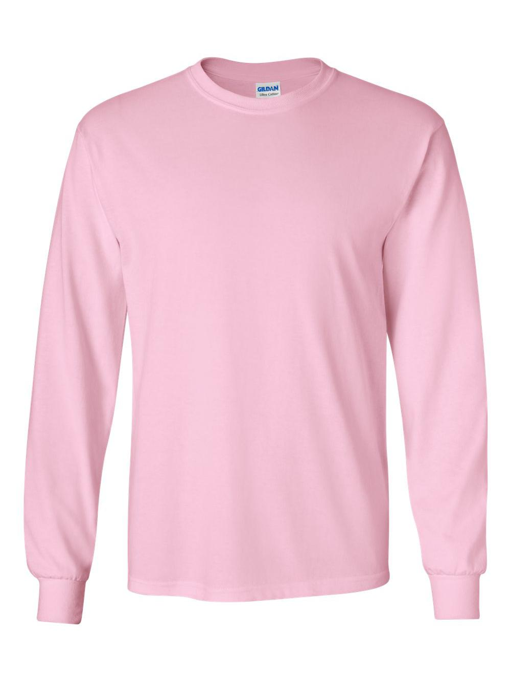 Gildan-Ultra-Cotton-Long-Sleeve-T-Shirt-2400 thumbnail 39