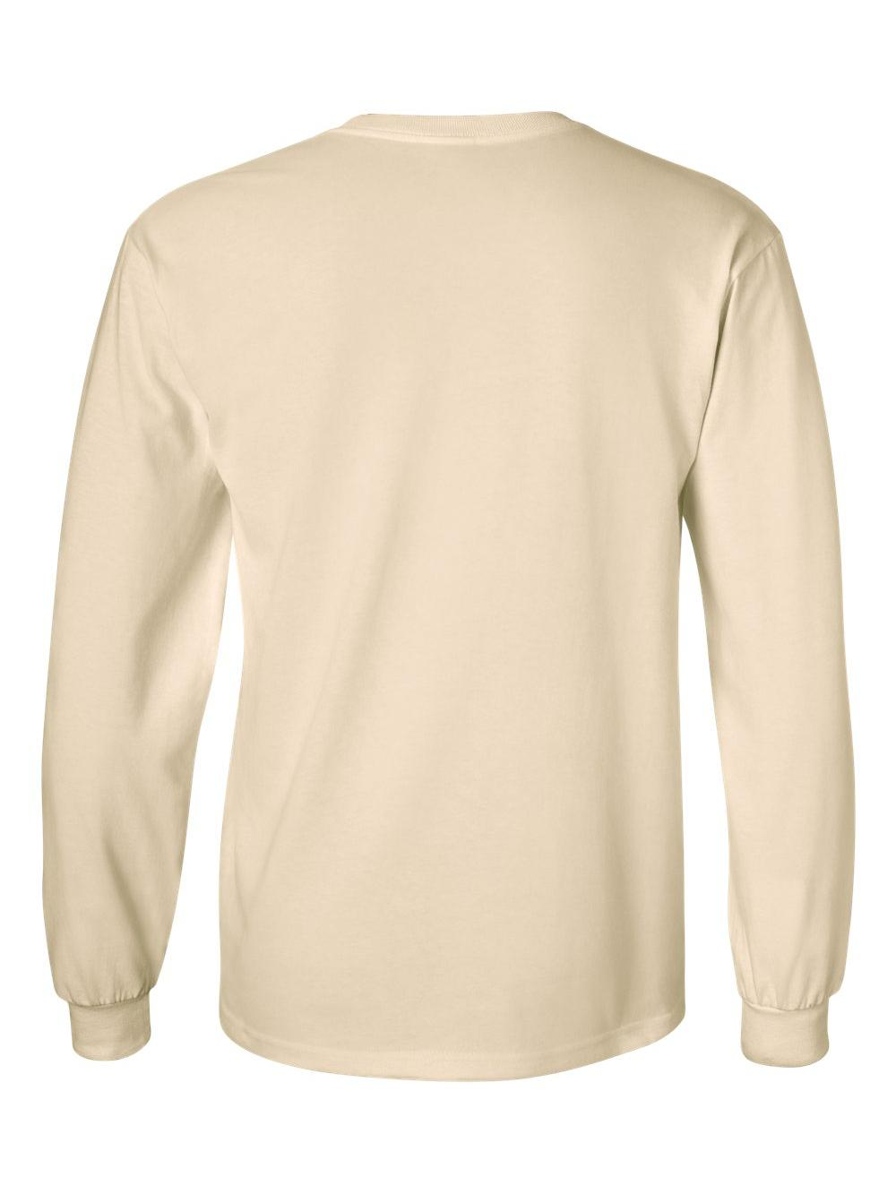 Gildan-Ultra-Cotton-Long-Sleeve-T-Shirt-2400 thumbnail 49