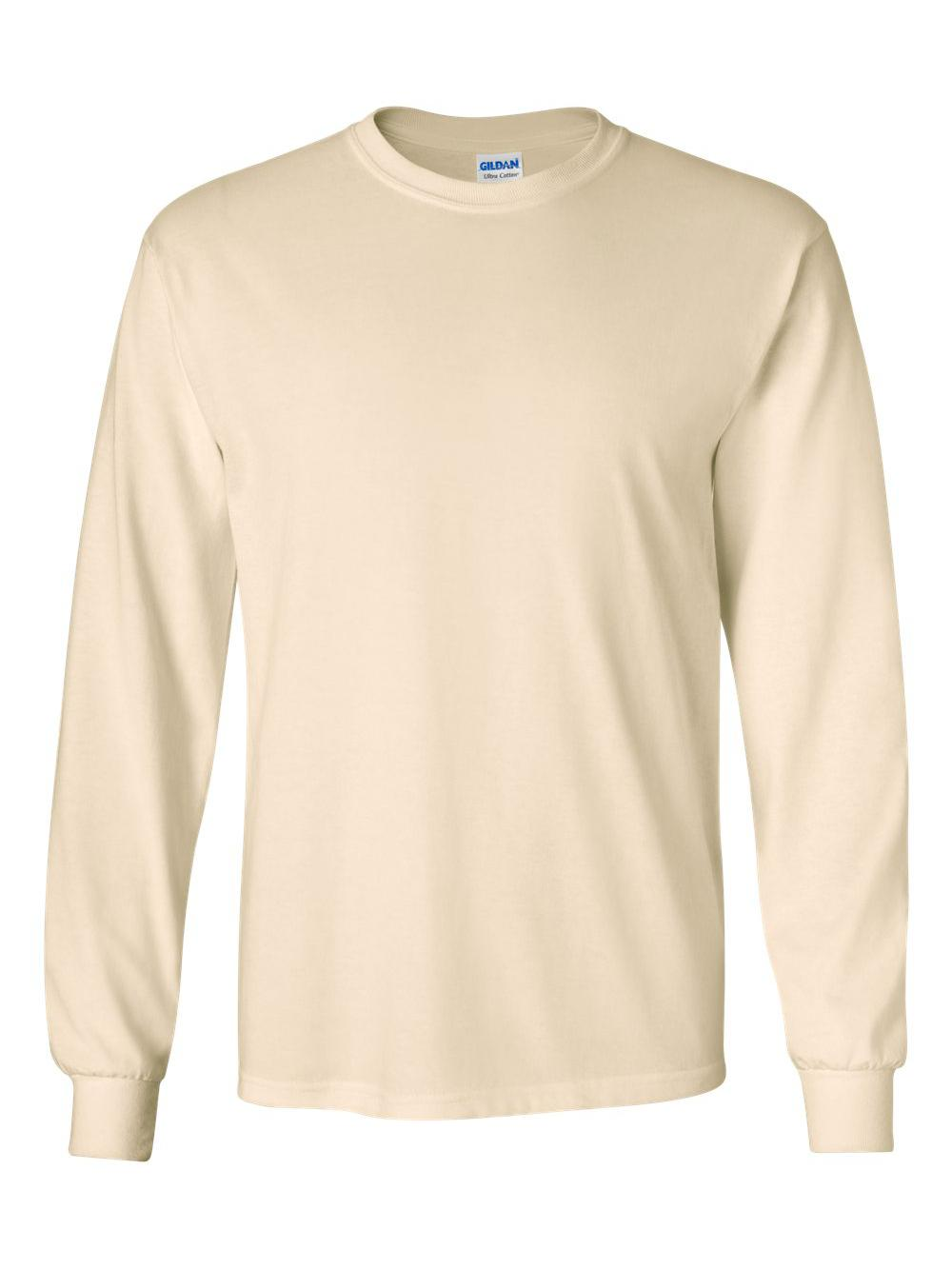 Gildan-Ultra-Cotton-Long-Sleeve-T-Shirt-2400 thumbnail 48