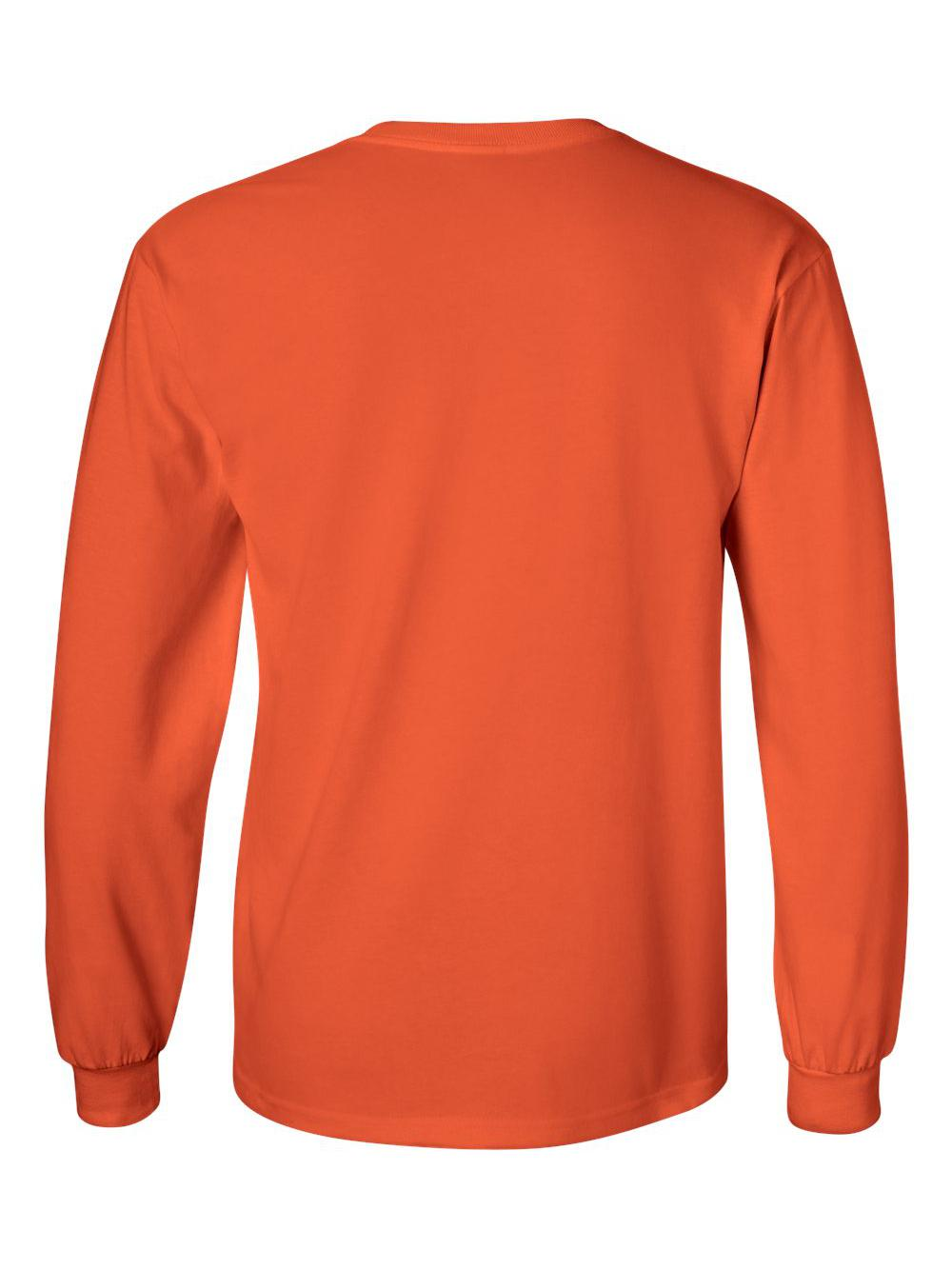 Gildan-Ultra-Cotton-Long-Sleeve-T-Shirt-2400 thumbnail 55