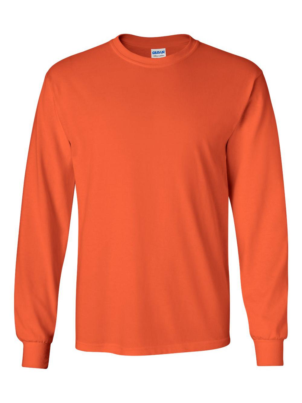Gildan-Ultra-Cotton-Long-Sleeve-T-Shirt-2400 thumbnail 54