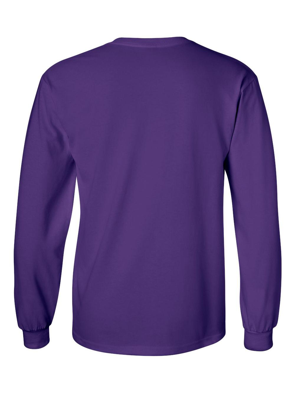 Gildan-Ultra-Cotton-Long-Sleeve-T-Shirt-2400 thumbnail 58