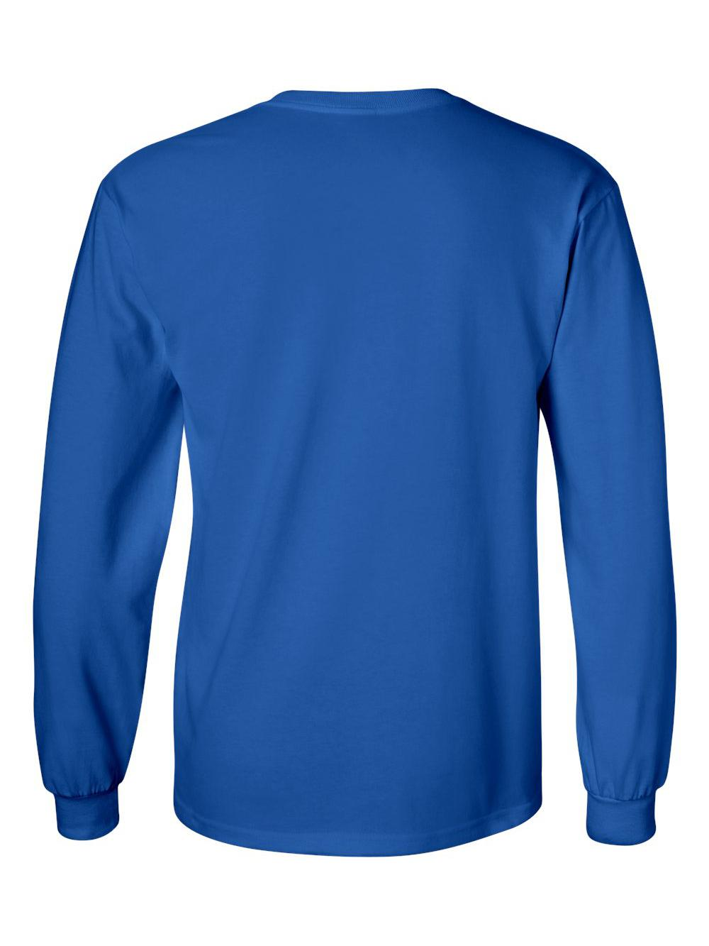 Gildan-Ultra-Cotton-Long-Sleeve-T-Shirt-2400 thumbnail 64