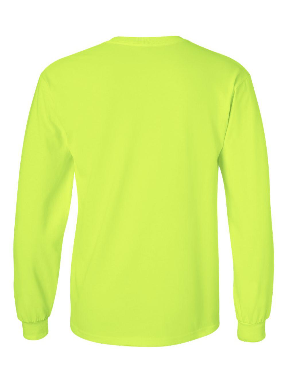 Gildan-Ultra-Cotton-Long-Sleeve-T-Shirt-2400 thumbnail 67