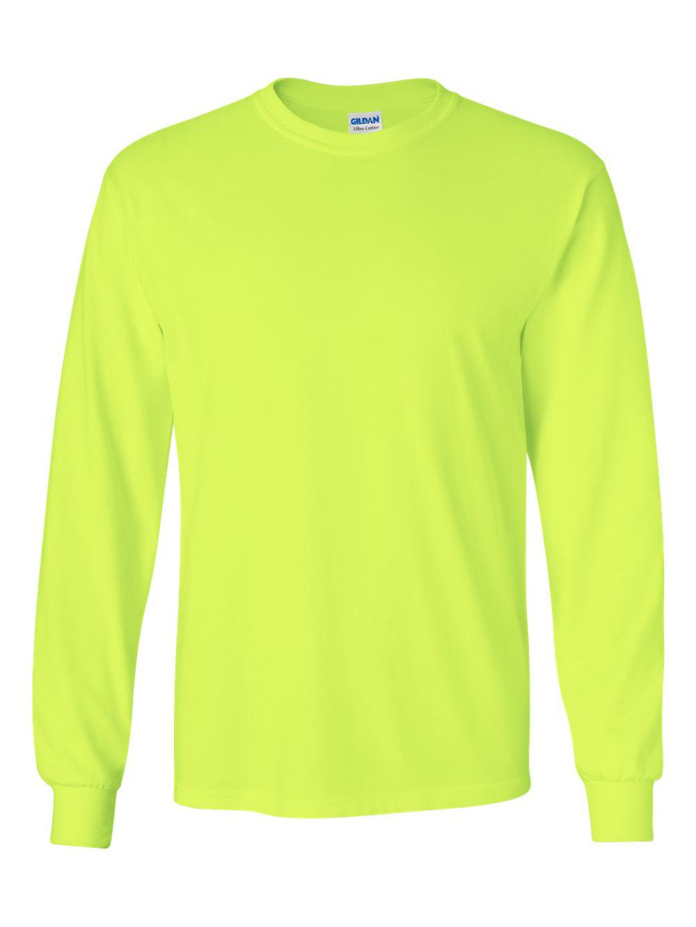 Gildan-Ultra-Cotton-Long-Sleeve-T-Shirt-2400 thumbnail 66