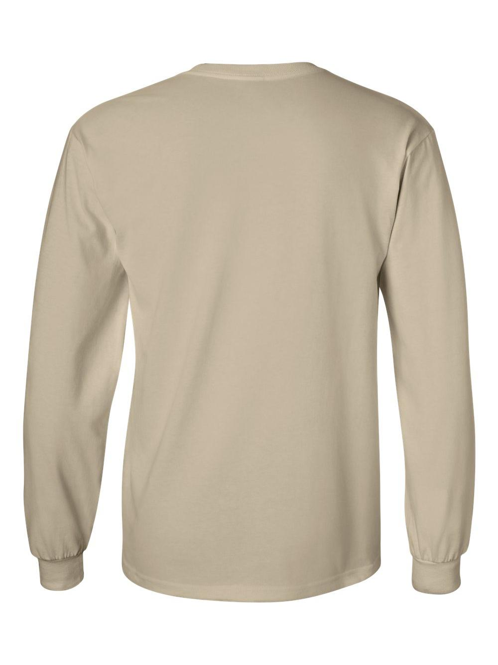 Gildan-Ultra-Cotton-Long-Sleeve-T-Shirt-2400 thumbnail 73