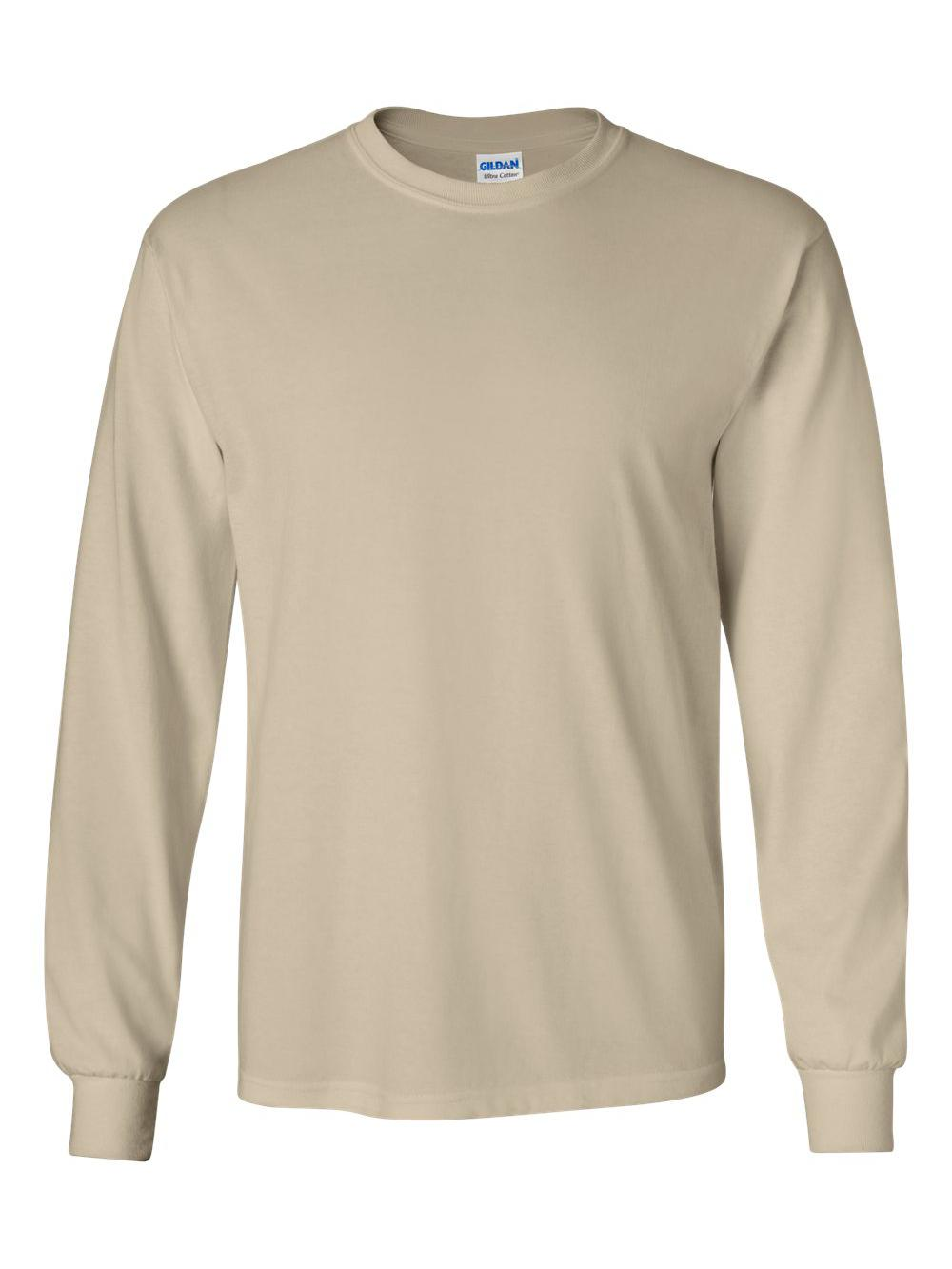 Gildan-Ultra-Cotton-Long-Sleeve-T-Shirt-2400 thumbnail 72