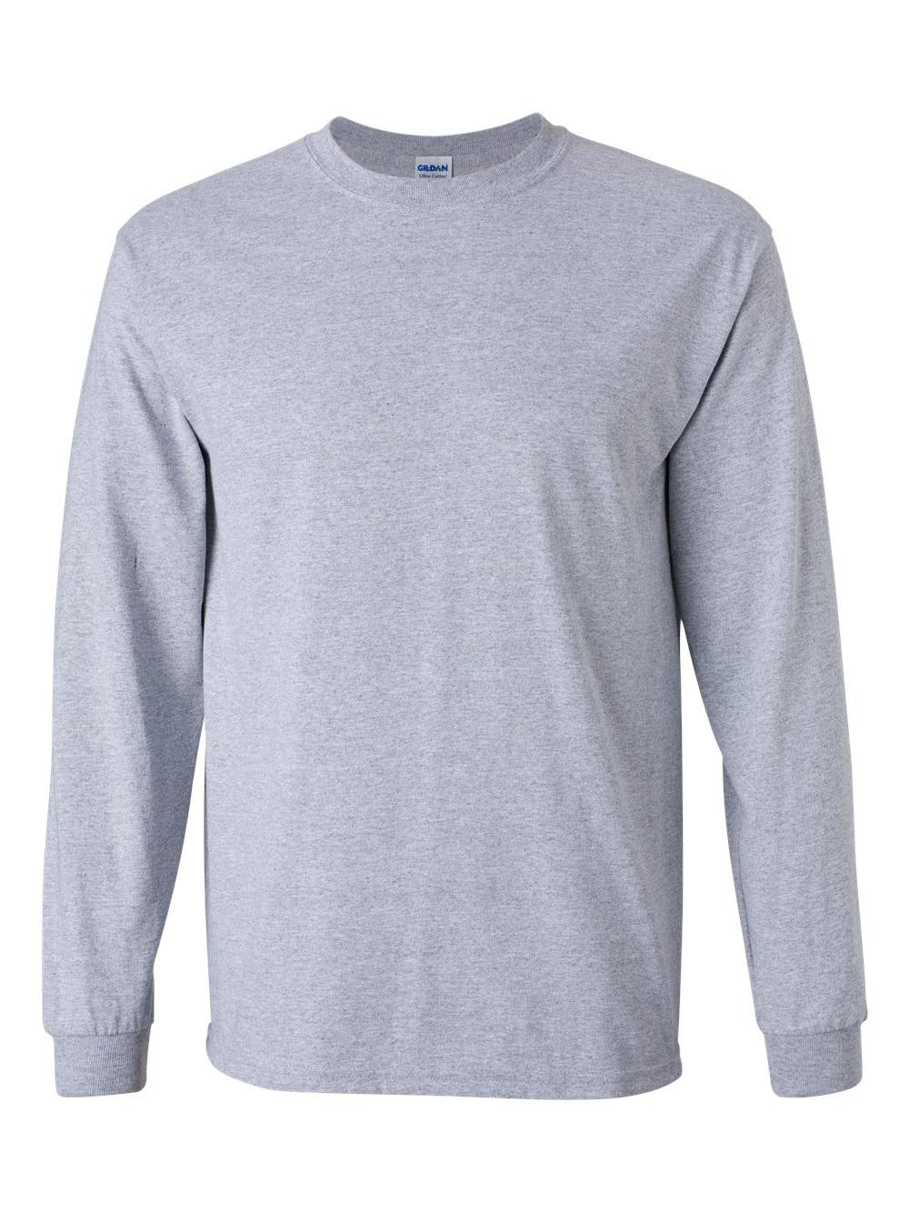 Gildan-Ultra-Cotton-Long-Sleeve-T-Shirt-2400 thumbnail 78