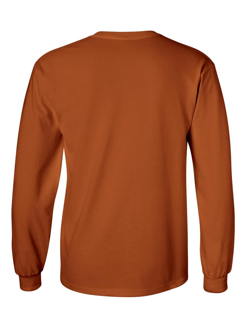 Gildan-Ultra-Cotton-Long-Sleeve-T-Shirt-2400 thumbnail 82
