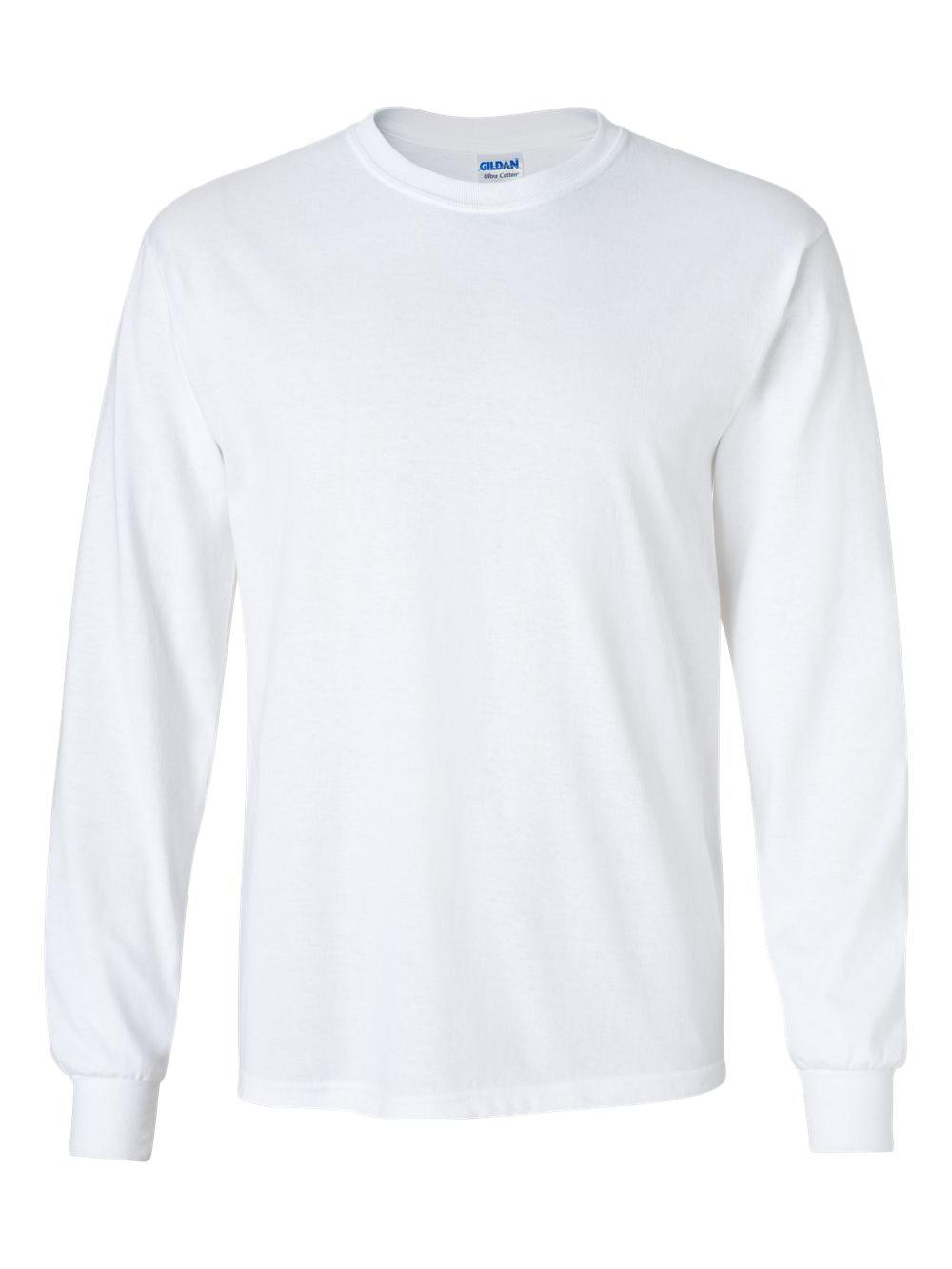 Gildan-Ultra-Cotton-Long-Sleeve-T-Shirt-2400 thumbnail 84