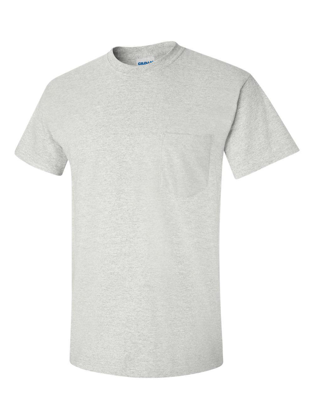 Gildan-Ultra-Cotton-T-Shirt-with-a-Pocket-2300 thumbnail 3