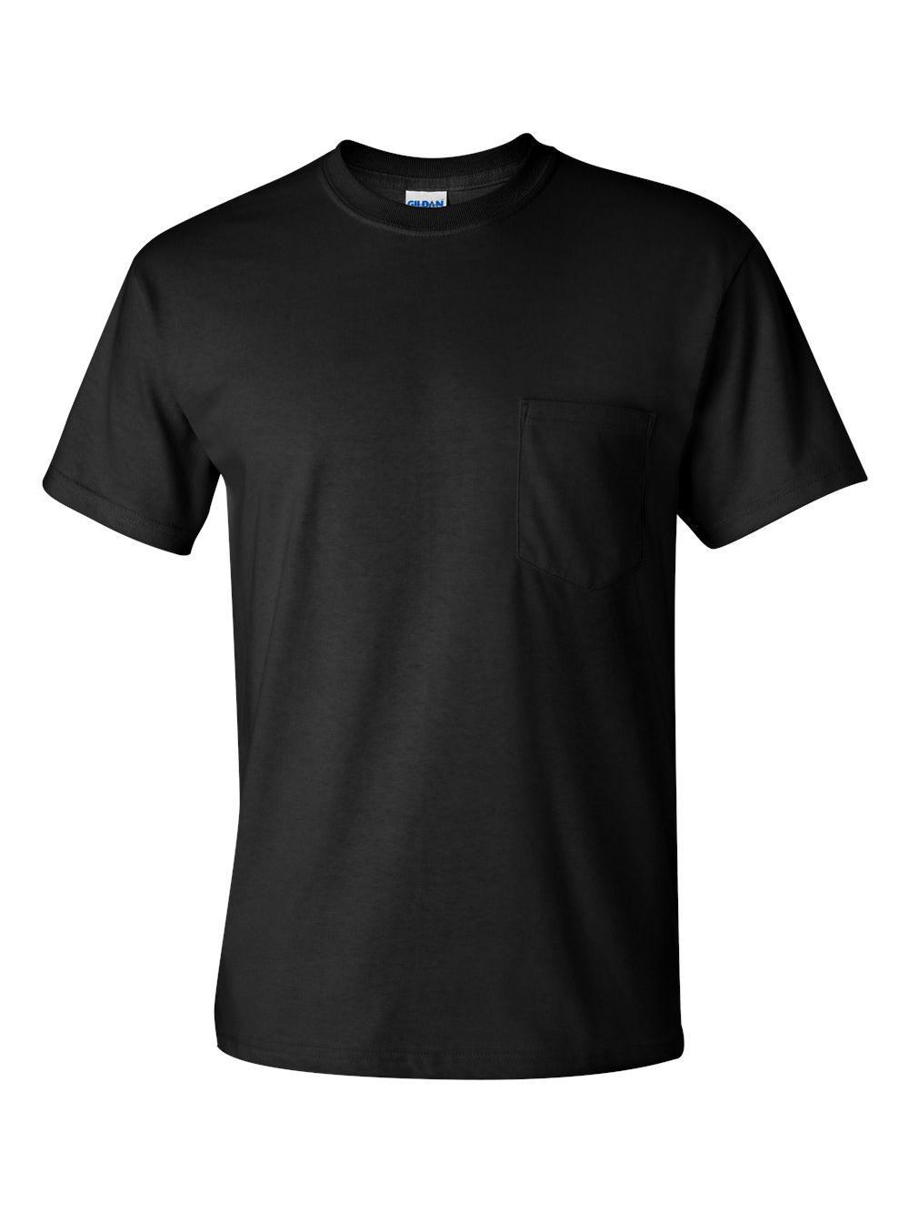 Gildan-Ultra-Cotton-T-Shirt-with-a-Pocket-2300 thumbnail 6