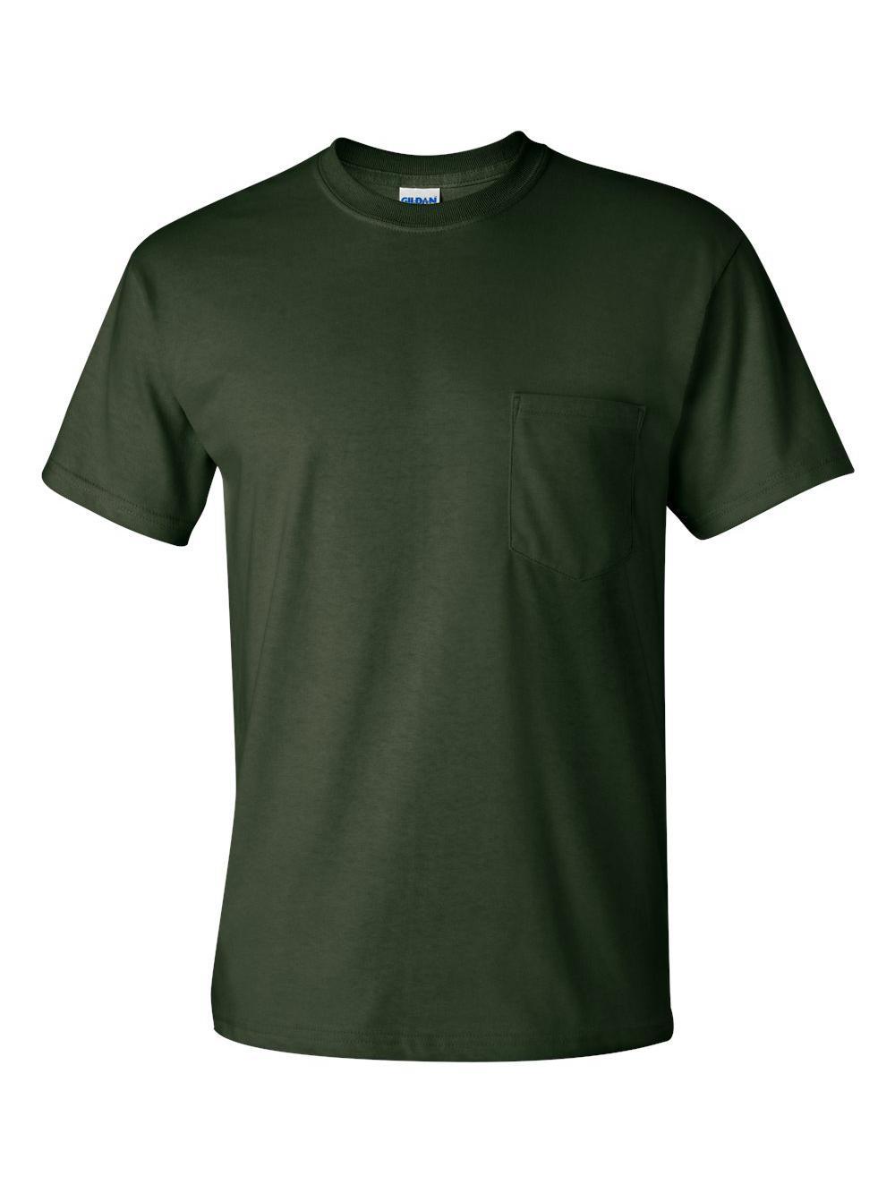 Gildan-Ultra-Cotton-T-Shirt-with-a-Pocket-2300 thumbnail 12