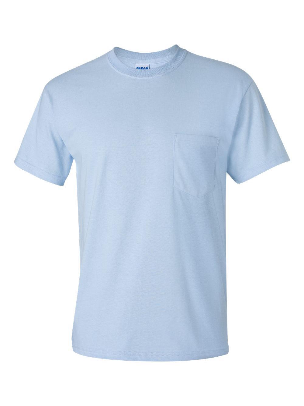Gildan-Ultra-Cotton-T-Shirt-with-a-Pocket-2300 thumbnail 15