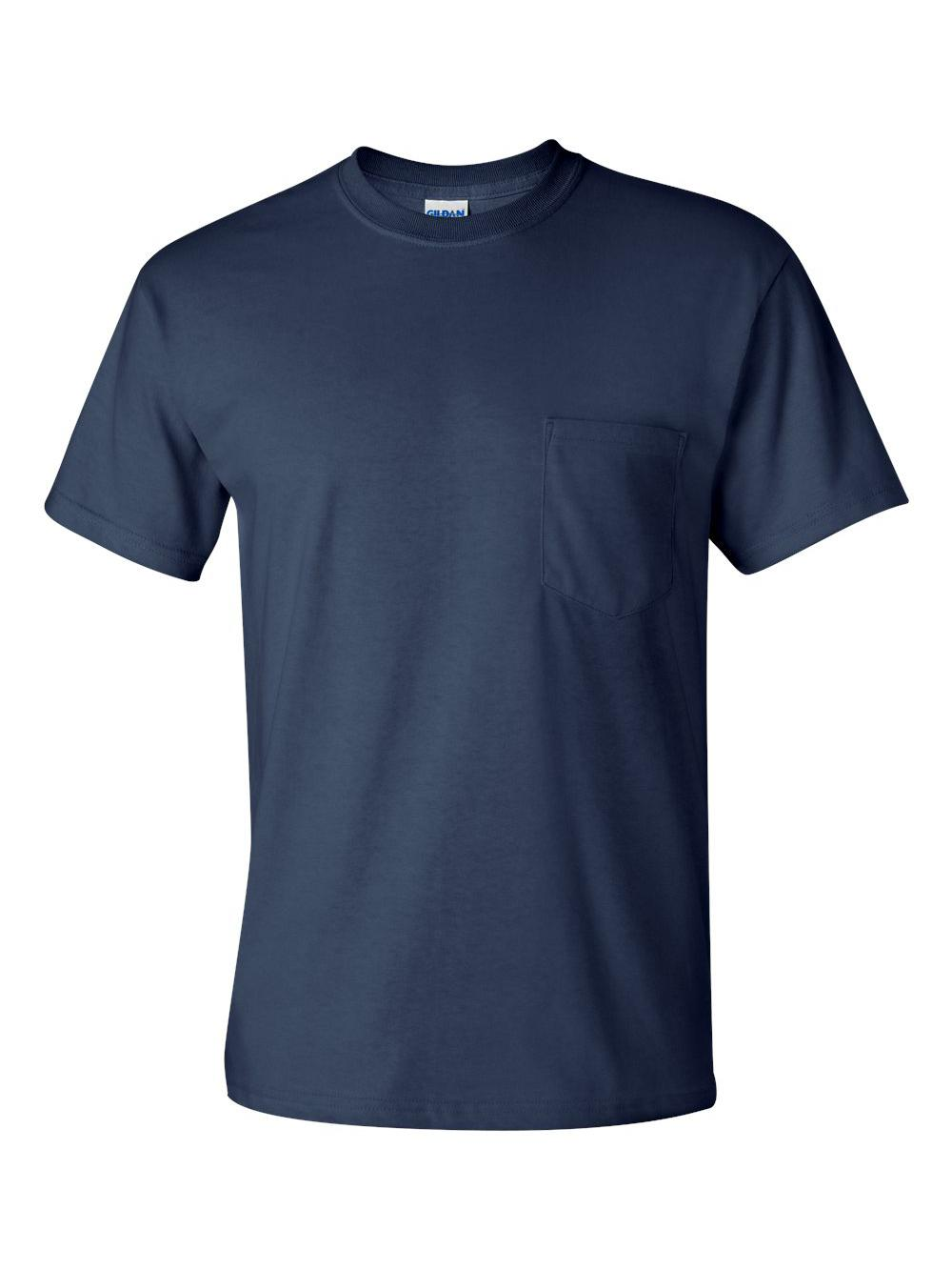 Gildan-Ultra-Cotton-T-Shirt-with-a-Pocket-2300 thumbnail 21