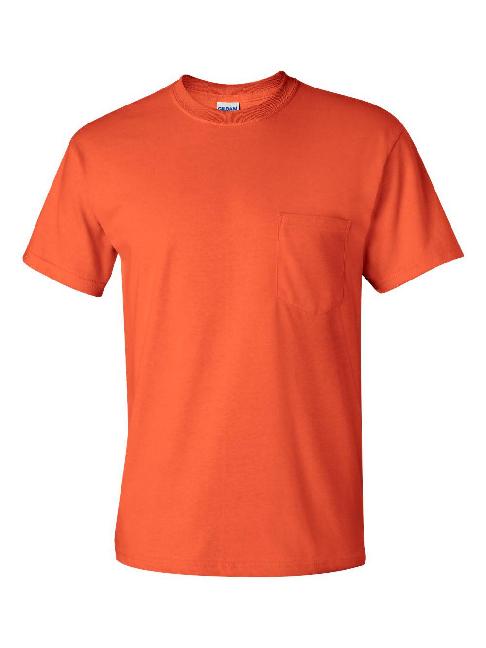 Gildan-Ultra-Cotton-T-Shirt-with-a-Pocket-2300 thumbnail 24