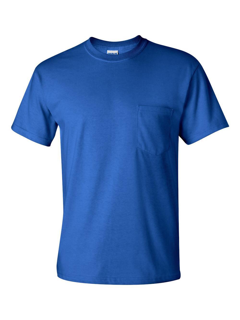 Gildan-Ultra-Cotton-T-Shirt-with-a-Pocket-2300 thumbnail 30