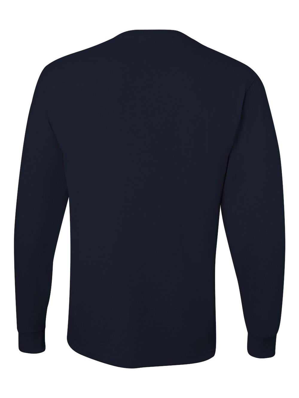 Jerzees-Dri-Power-Long-Sleeve-50-50-T-Shirt-29LSR thumbnail 10