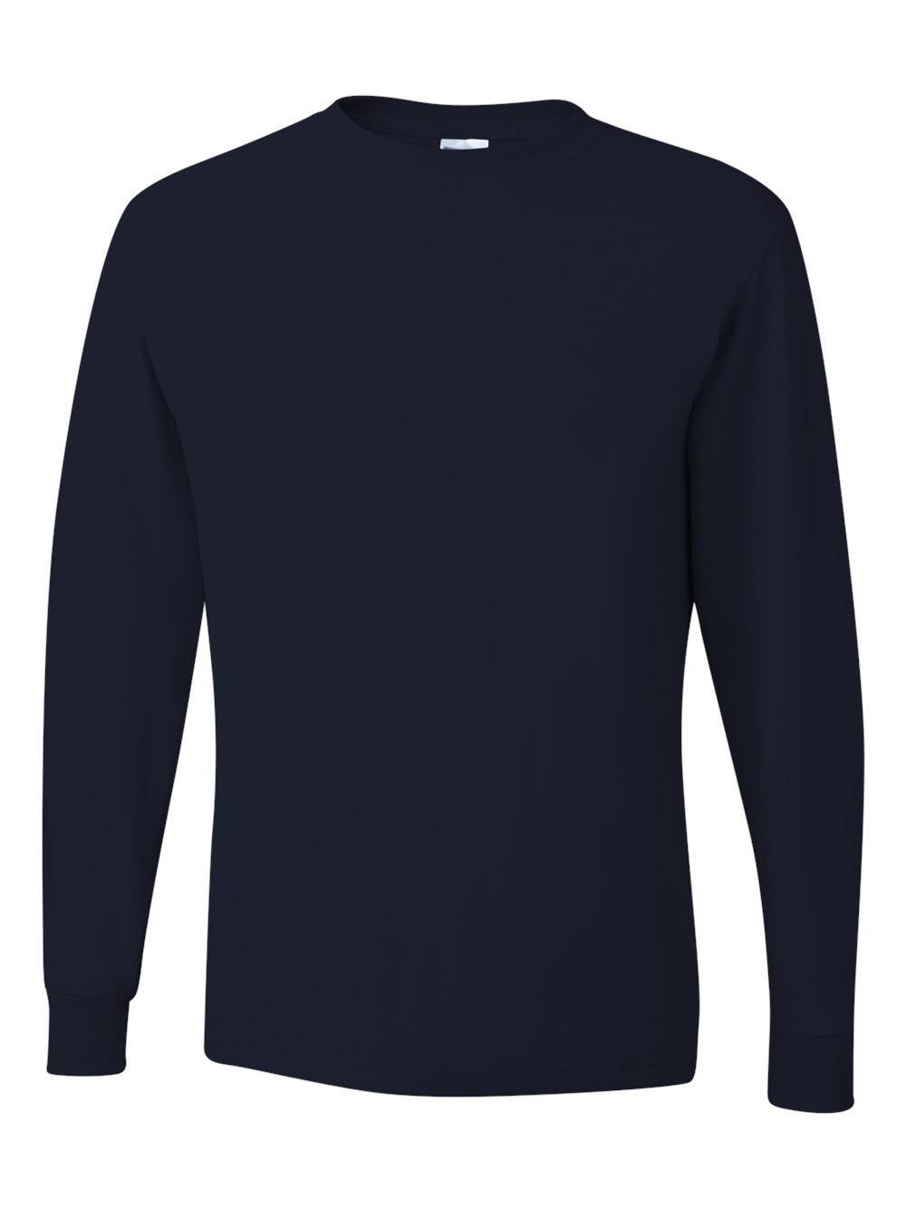 Jerzees-Dri-Power-Long-Sleeve-50-50-T-Shirt-29LSR thumbnail 9