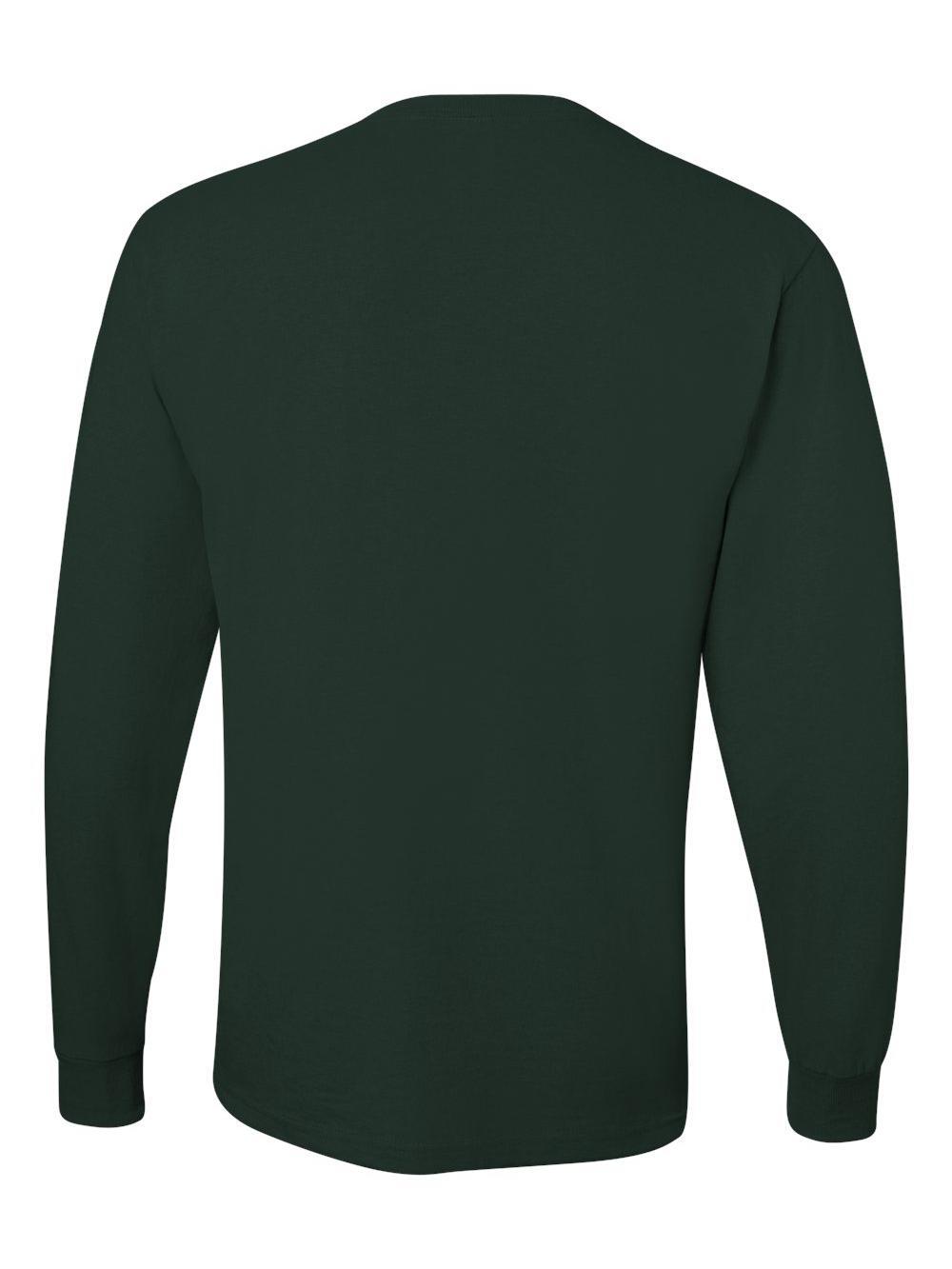 Jerzees-Dri-Power-Long-Sleeve-50-50-T-Shirt-29LSR thumbnail 37