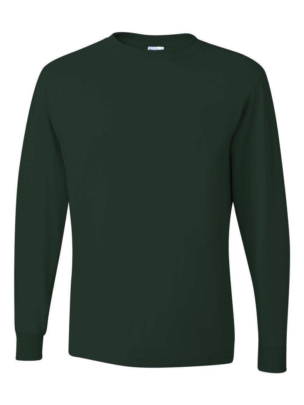 Jerzees-Dri-Power-Long-Sleeve-50-50-T-Shirt-29LSR thumbnail 36