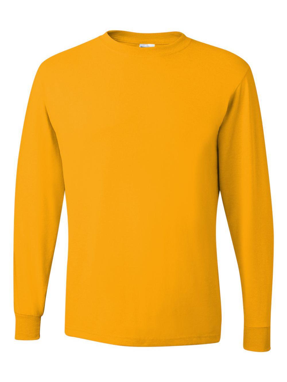Jerzees-Dri-Power-Long-Sleeve-50-50-T-Shirt-29LSR thumbnail 39