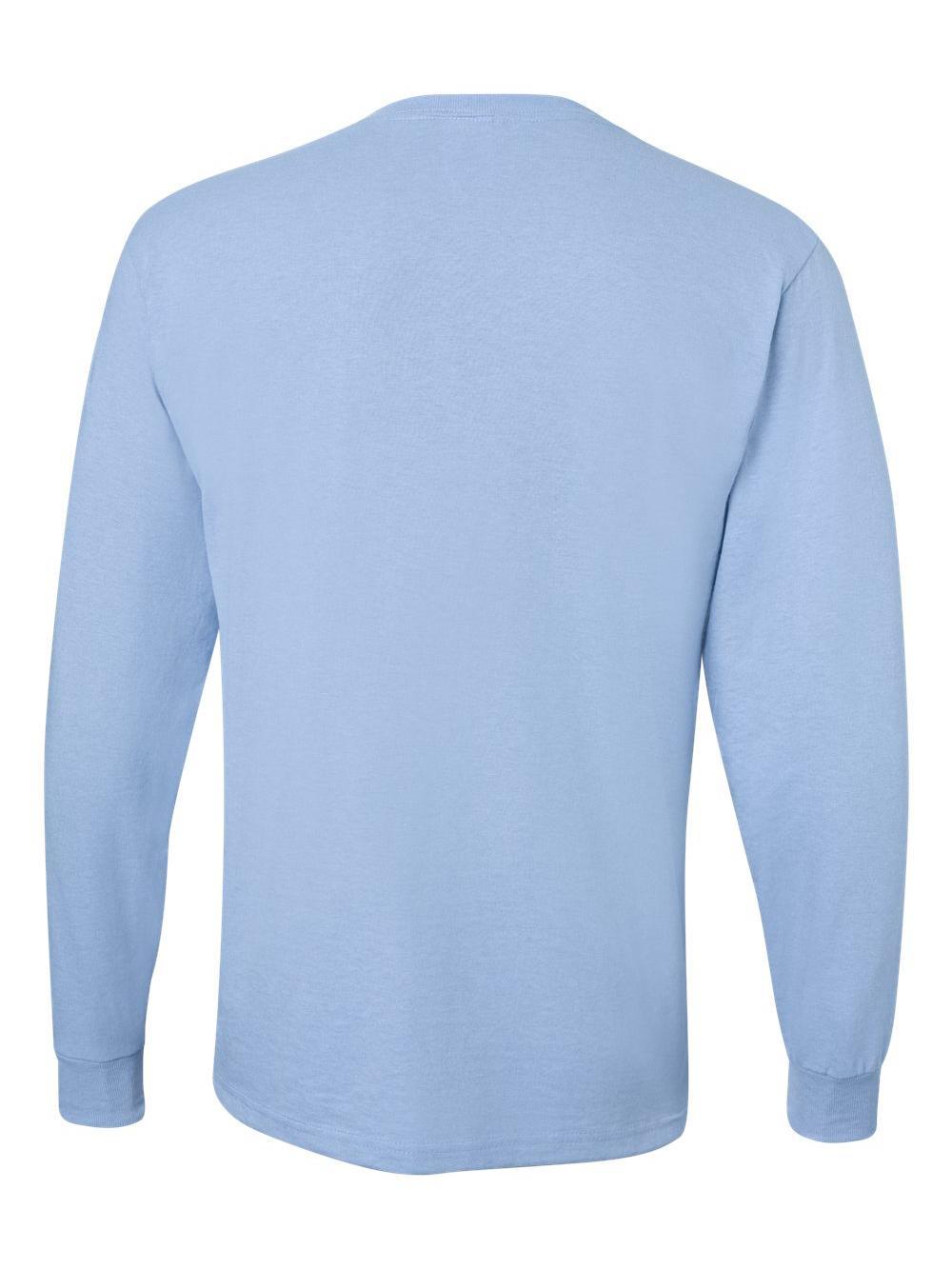 Jerzees-Dri-Power-Long-Sleeve-50-50-T-Shirt-29LSR thumbnail 55