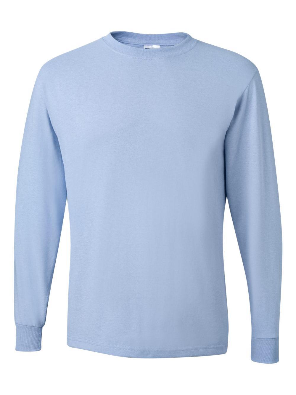 Jerzees-Dri-Power-Long-Sleeve-50-50-T-Shirt-29LSR thumbnail 54