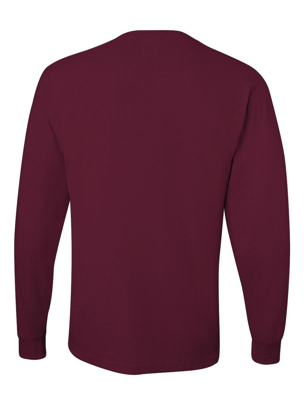 Jerzees-Dri-Power-Long-Sleeve-50-50-T-Shirt-29LSR thumbnail 58