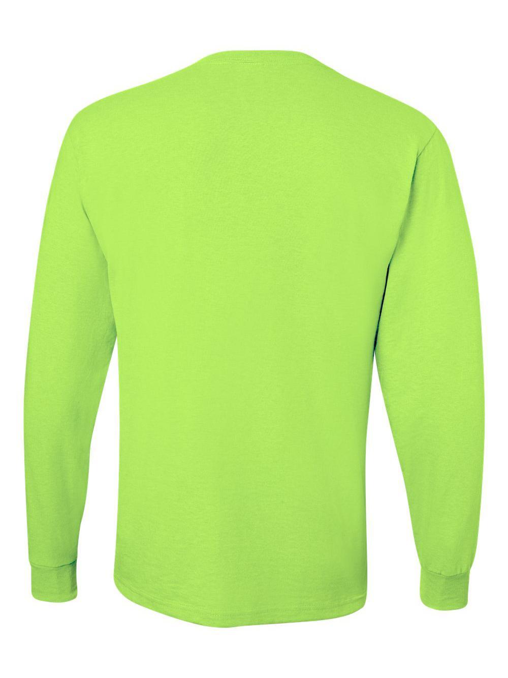 Jerzees-Dri-Power-Long-Sleeve-50-50-T-Shirt-29LSR thumbnail 73