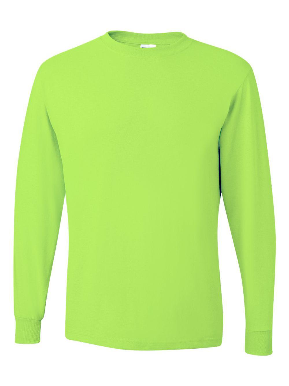 Jerzees-Dri-Power-Long-Sleeve-50-50-T-Shirt-29LSR thumbnail 72