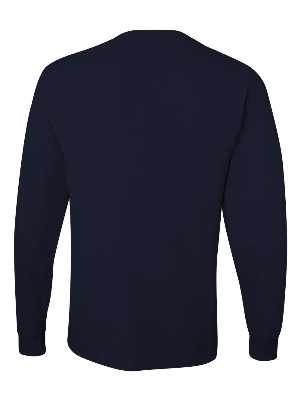 Jerzees-Dri-Power-Long-Sleeve-50-50-T-Shirt-29LSR thumbnail 46
