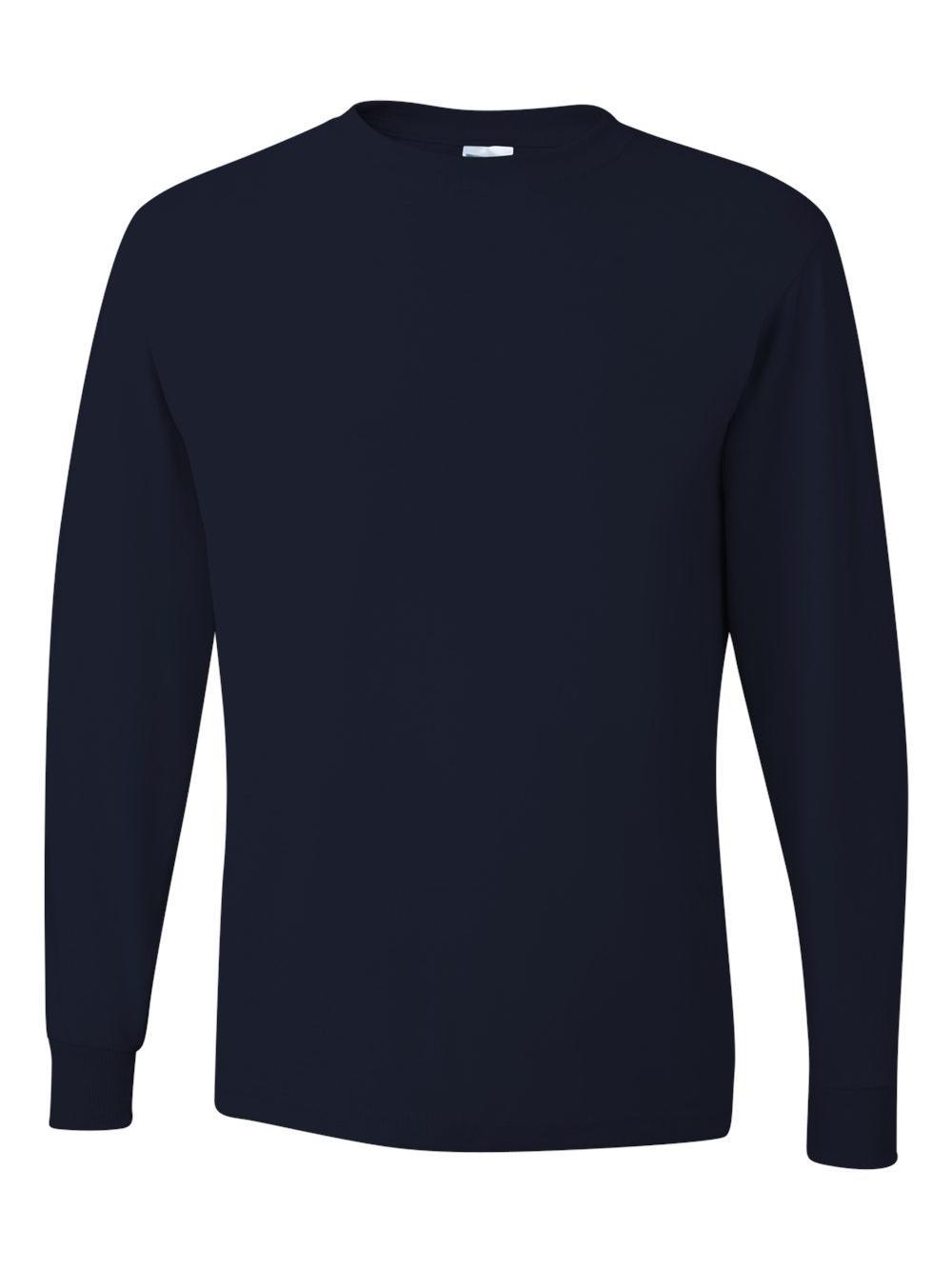 Jerzees-Dri-Power-Long-Sleeve-50-50-T-Shirt-29LSR thumbnail 45