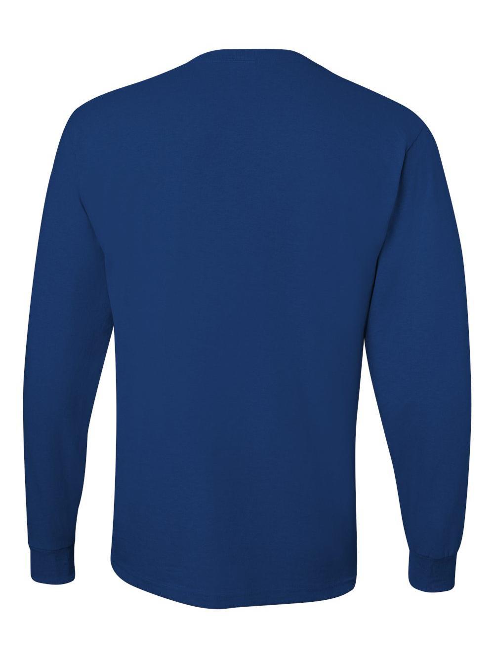 Jerzees-Dri-Power-Long-Sleeve-50-50-T-Shirt-29LSR thumbnail 70