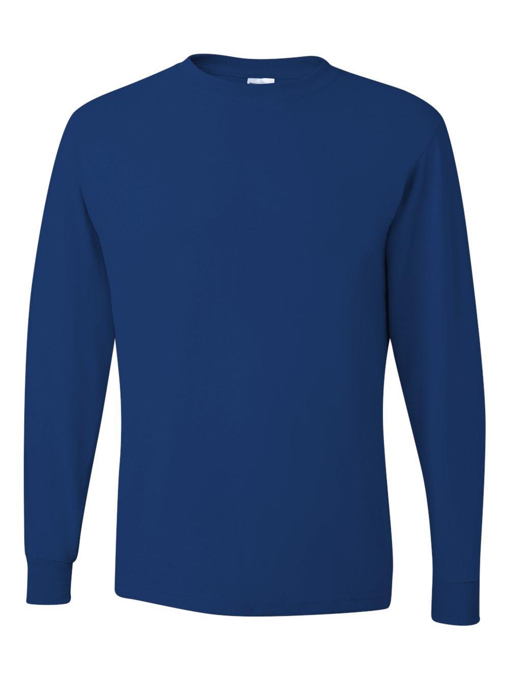 Jerzees-Dri-Power-Long-Sleeve-50-50-T-Shirt-29LSR thumbnail 69