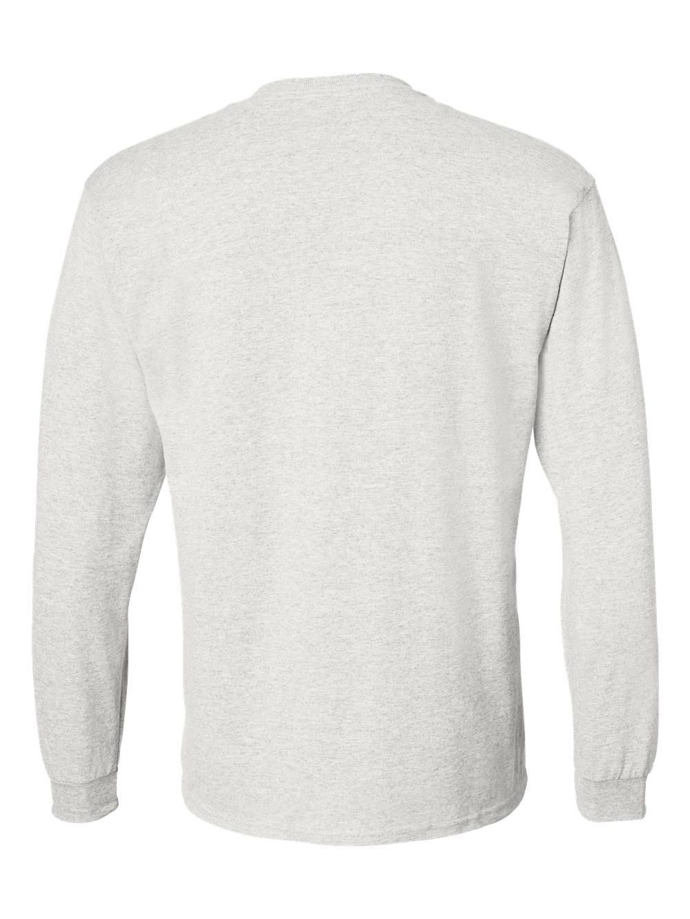 Gildan-DryBlend-50-50-Long-Sleeve-T-Shirt-8400 thumbnail 4