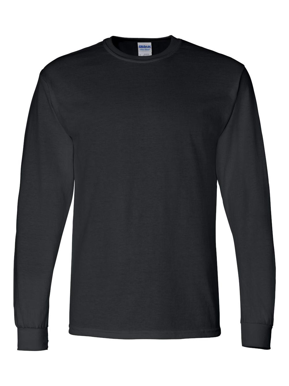 Gildan-DryBlend-50-50-Long-Sleeve-T-Shirt-8400 thumbnail 6