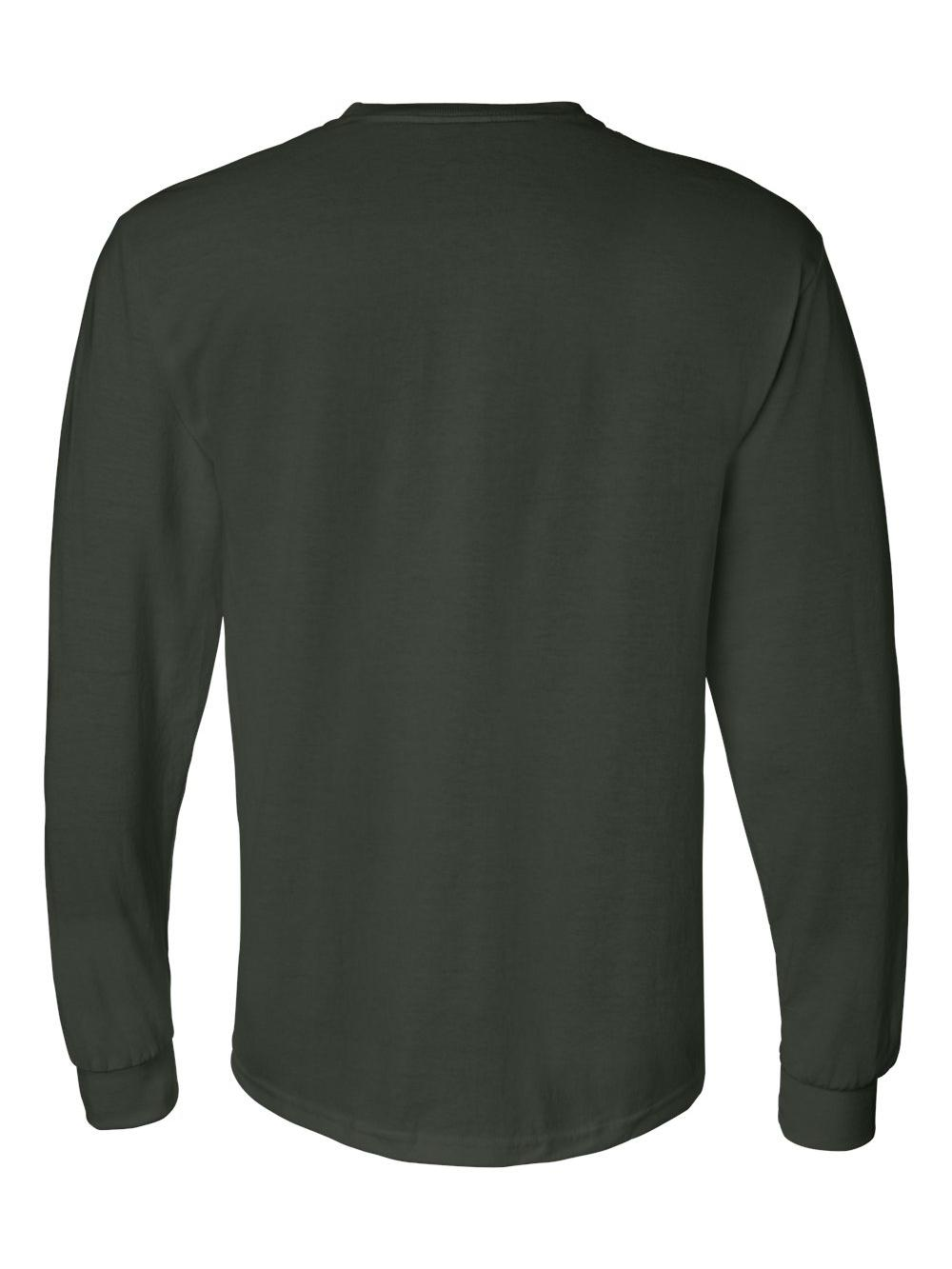 Gildan-DryBlend-50-50-Long-Sleeve-T-Shirt-8400 thumbnail 16