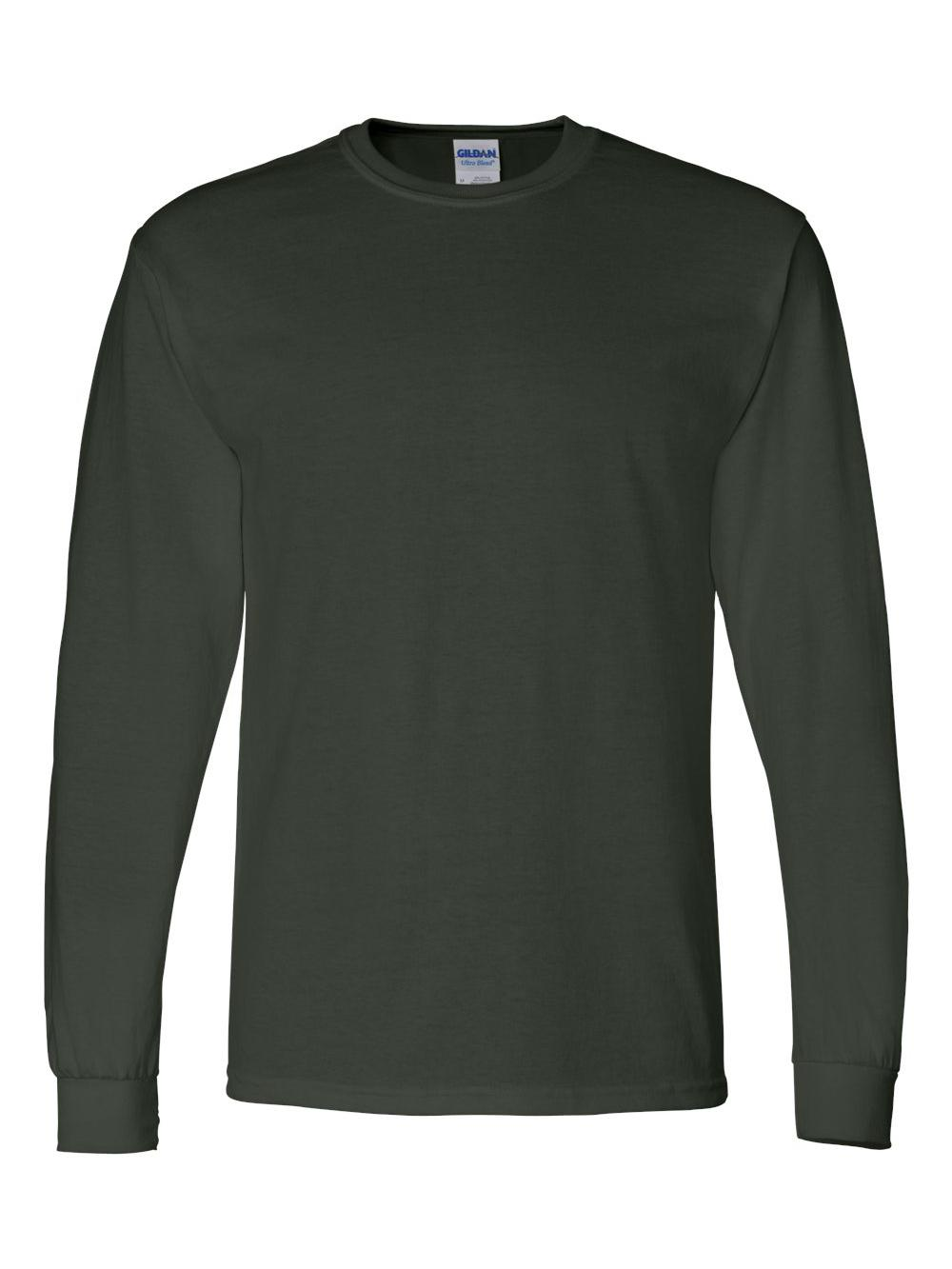 Gildan-DryBlend-50-50-Long-Sleeve-T-Shirt-8400 thumbnail 15