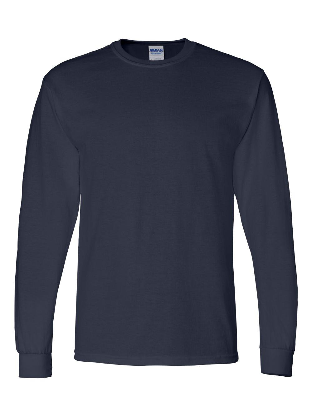 Gildan-DryBlend-50-50-Long-Sleeve-T-Shirt-8400 thumbnail 24