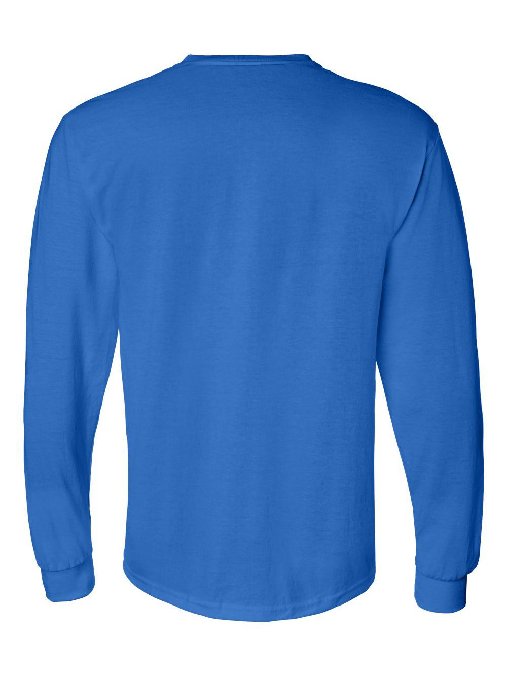 Gildan-DryBlend-50-50-Long-Sleeve-T-Shirt-8400 thumbnail 34