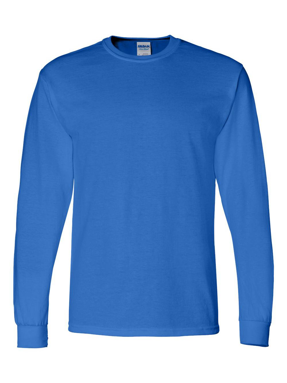 Gildan-DryBlend-50-50-Long-Sleeve-T-Shirt-8400 thumbnail 33