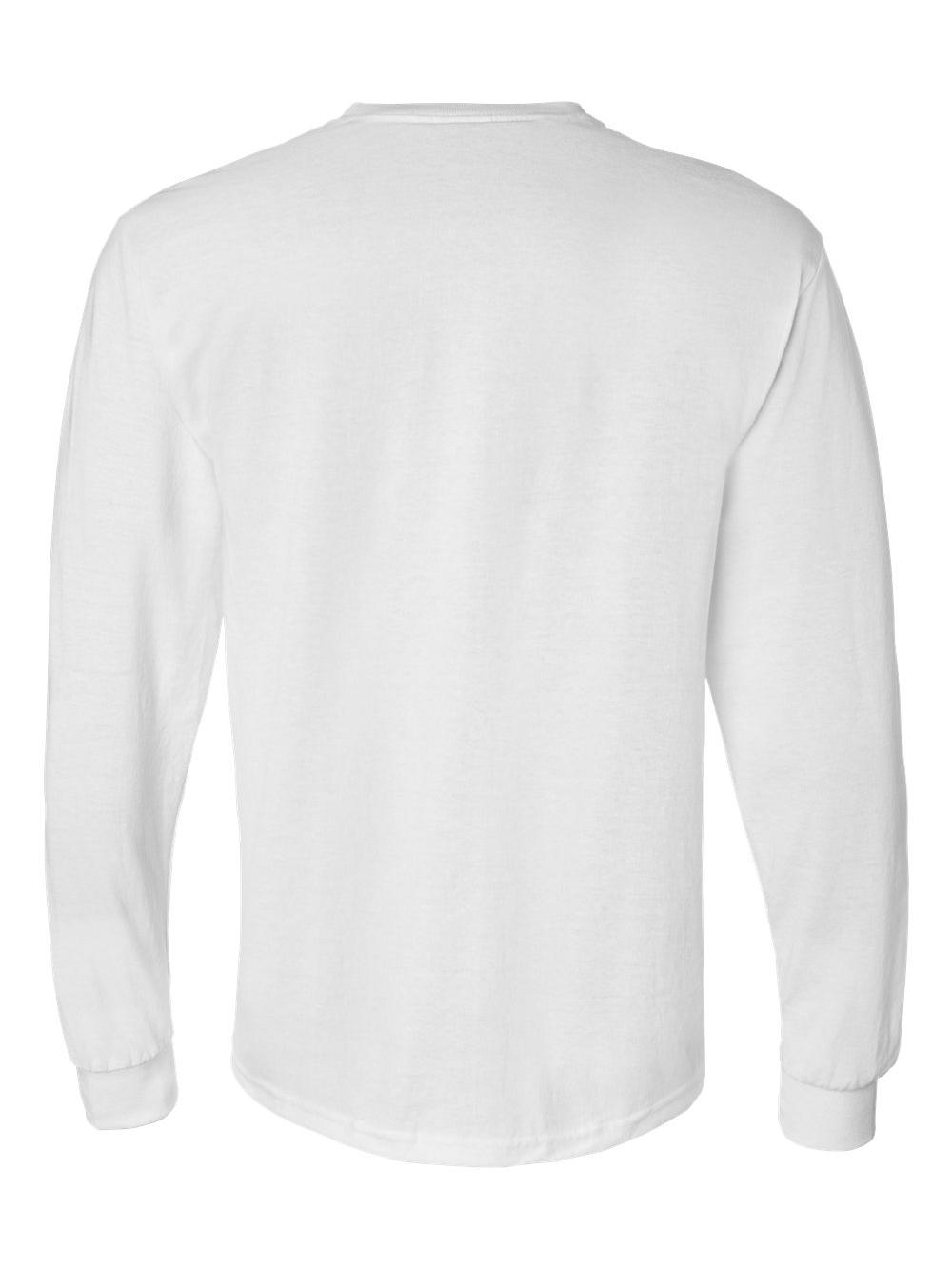 Gildan-DryBlend-50-50-Long-Sleeve-T-Shirt-8400 thumbnail 47